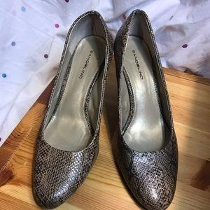 Leopard print 3 inch heel